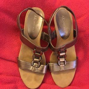 AK Anne Klein shoes size 9 sandals